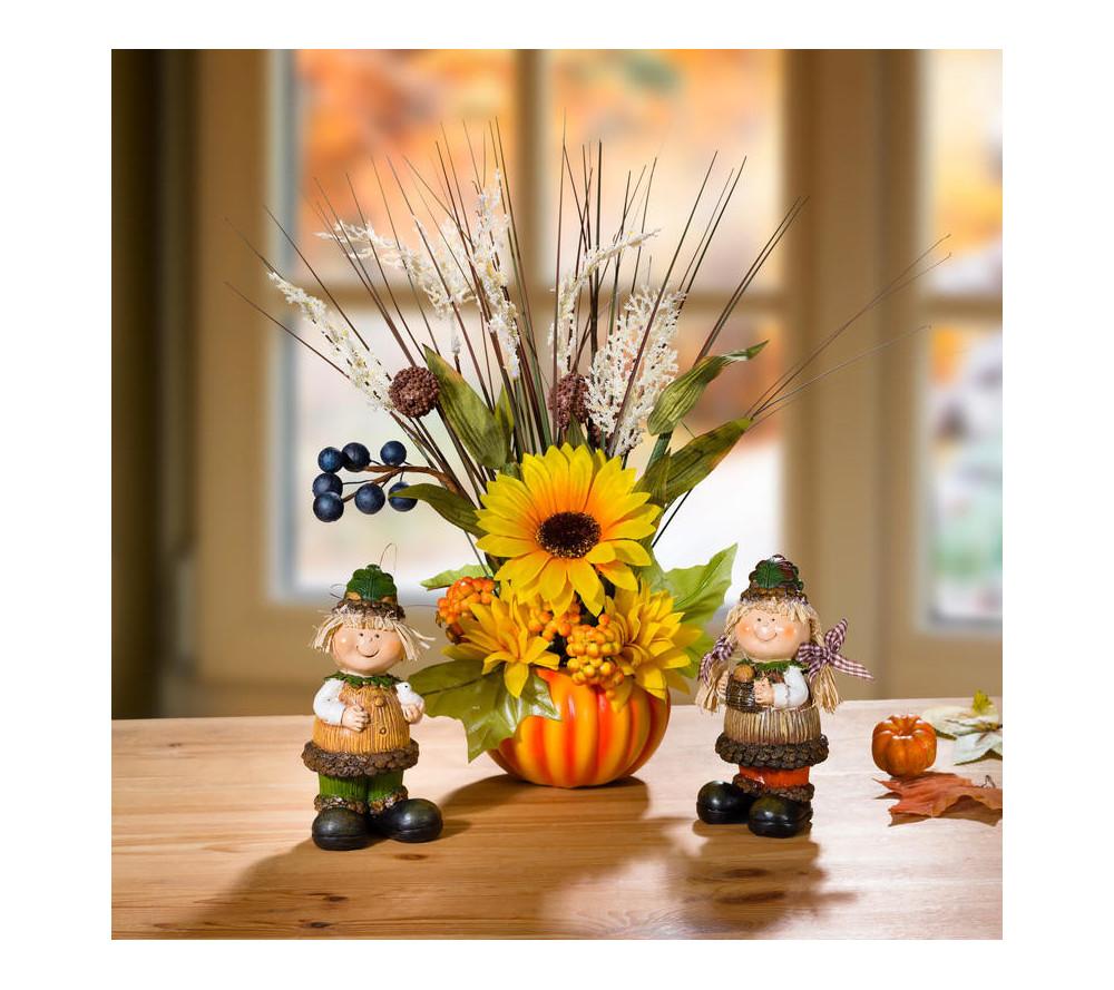Retro nábytok kvety