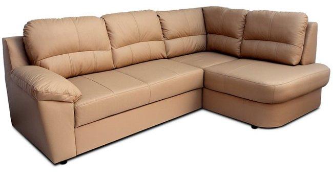 Kožená rohová sedačka Vaco