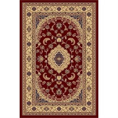Habitat Kusový koberec Super Antique floral červená, 160 x 230 cm