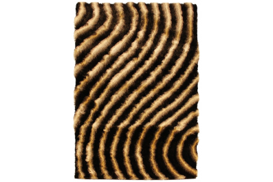 Shadow 160x230cm - čokoládová Curve