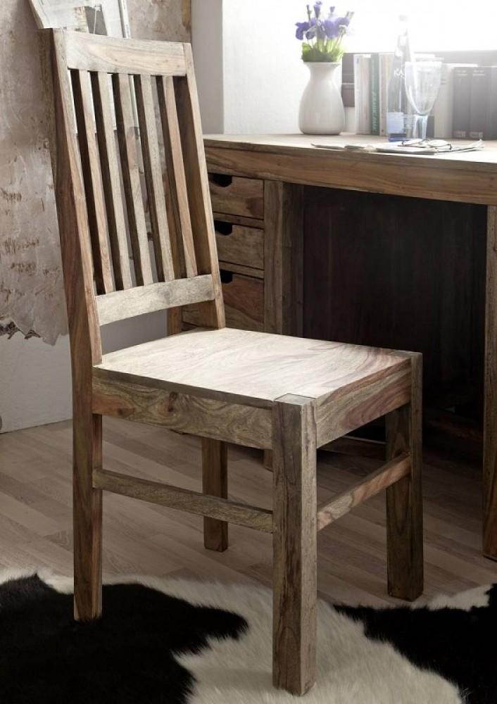 stolička do jedálne masívne palisandrové drevo