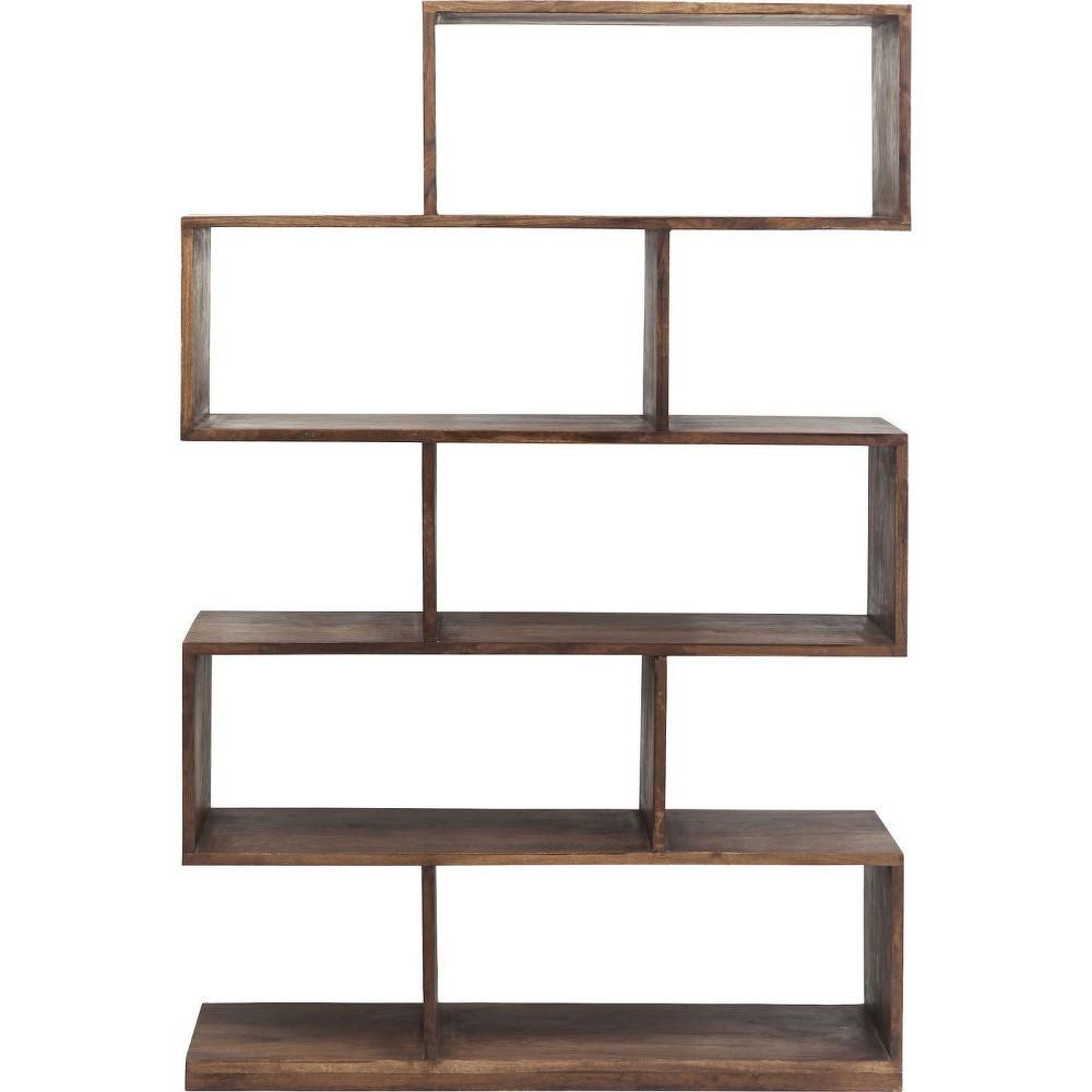 Knižnica zakáciového dreva Kare Design Authentic