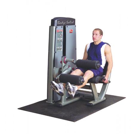 BODY SOLID LEG EXTENSION A CURL MACHINE DLEC-SF - PREDKOPÁVANIE A ZAKOPÁVANIE