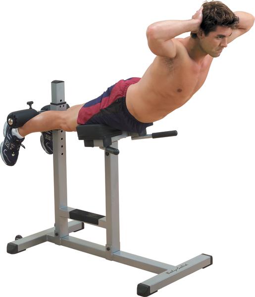 Hyperextenzia ako jednoduchý cvik na chrbát sa dá vykonávať aj doma, stačí vám na to špeciálna lavička