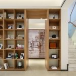 knižnice do obývačky