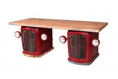 Písací stôl TRAKTOR - červená