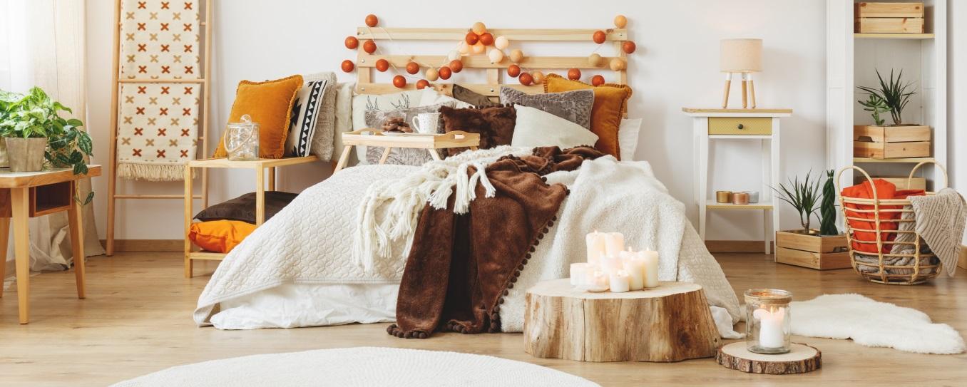 3 svieže štýly pre vašu spálňu
