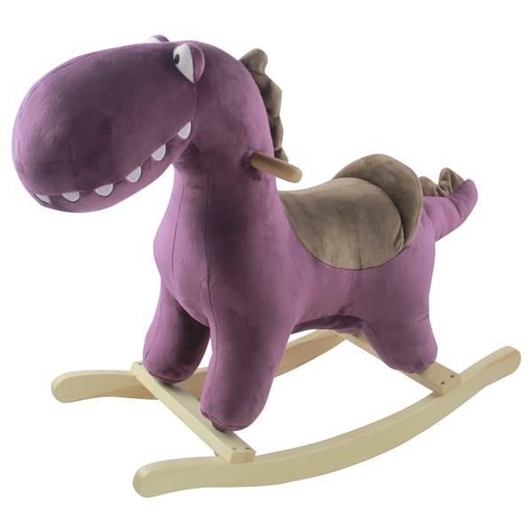 Hojdaci dinosaurus Petite&Mars Albert Purple fialové